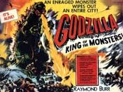 Movie Poster For Godzilla